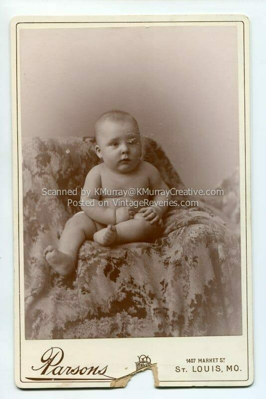 turn of the century baby photo