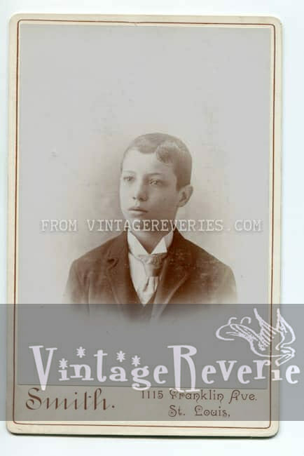 young boy photo 1880s
