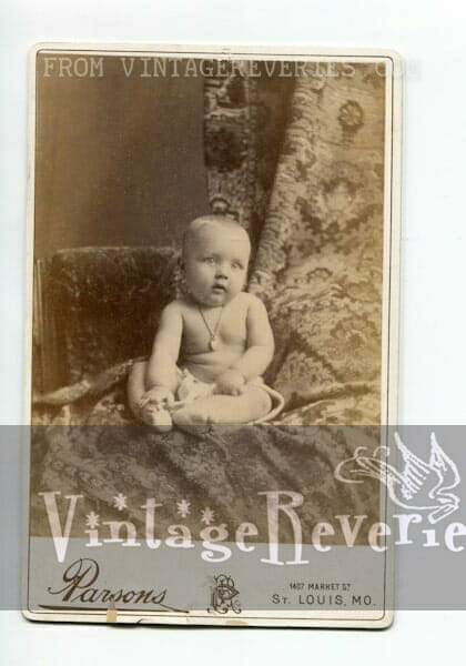1800s baby photograph St
