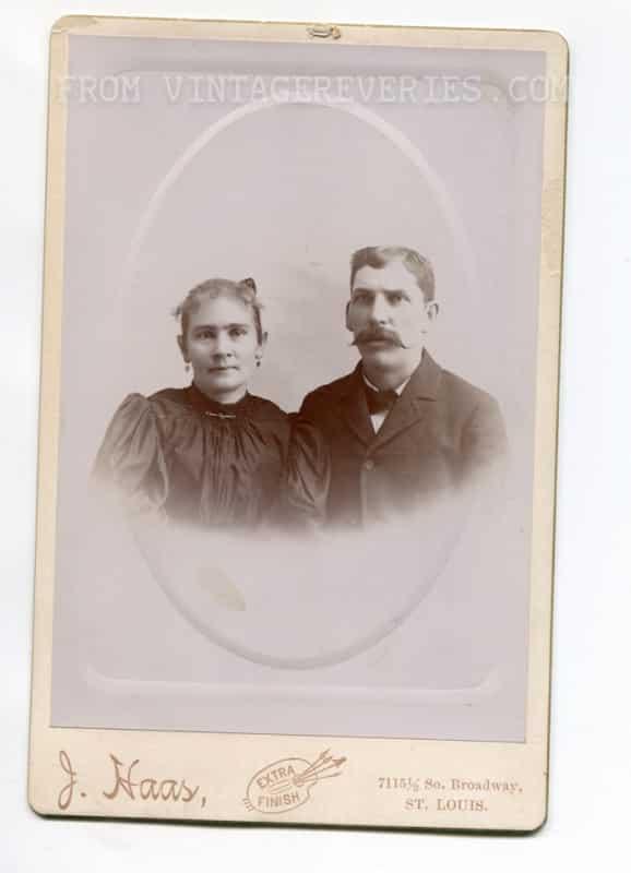 turn of the century couple