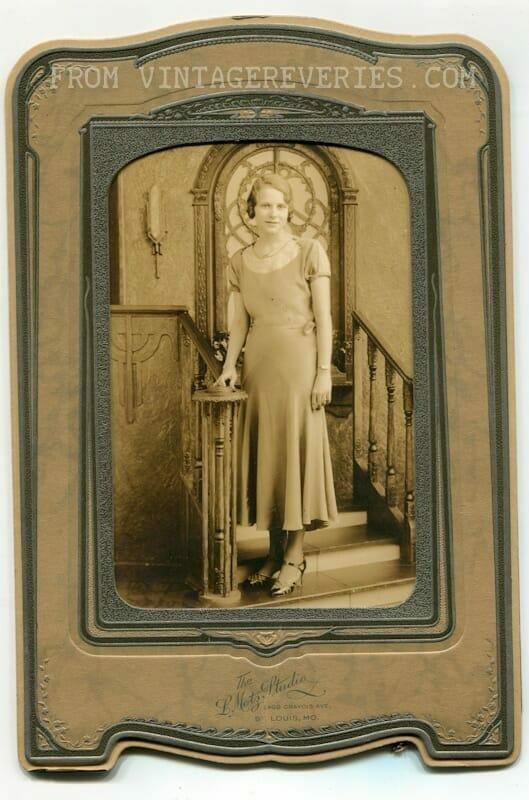 1930s glamor portrait
