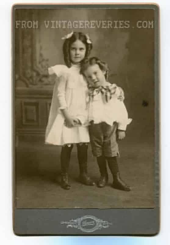 1890s Childrens Portraits