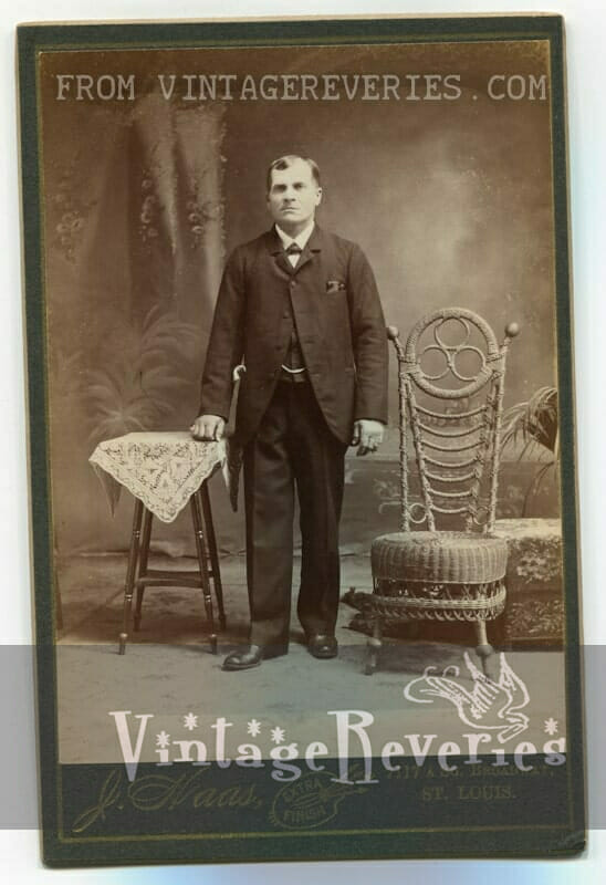 turn of the century young man
