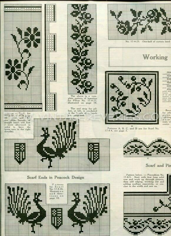 Free Filet Crochet Pattern