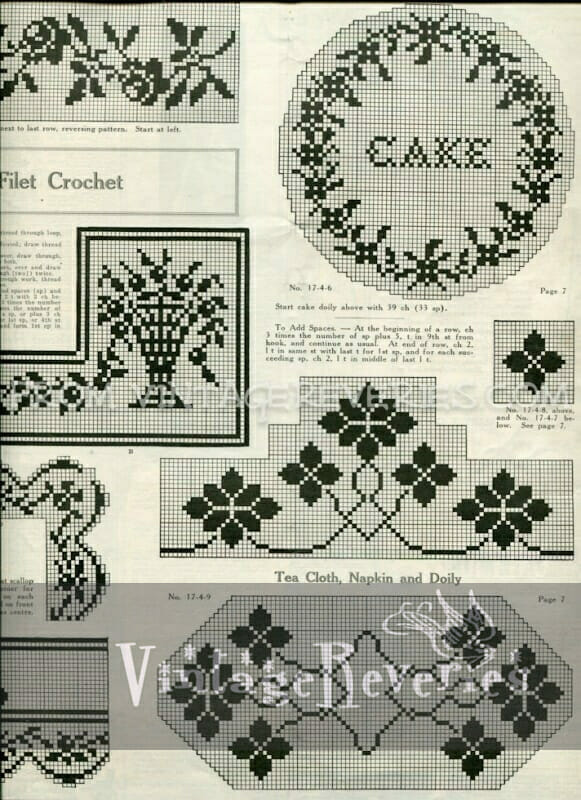 Doily, scarf, and pincushion embellishment patterns