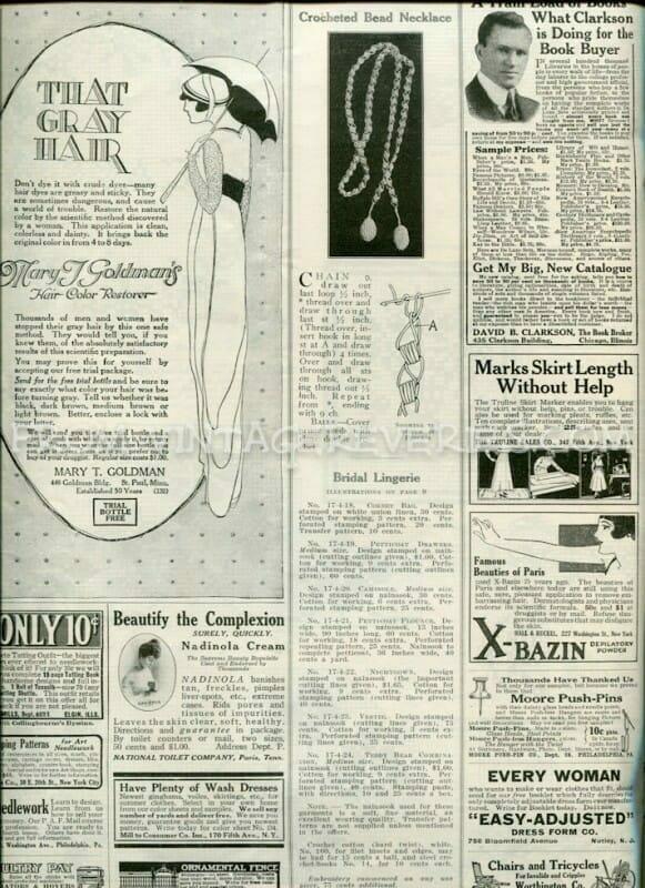 vintage grey hair ad