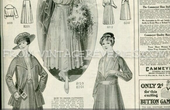 Late Edwardian Fashion Illustrations, Style Advice, and Advertisements