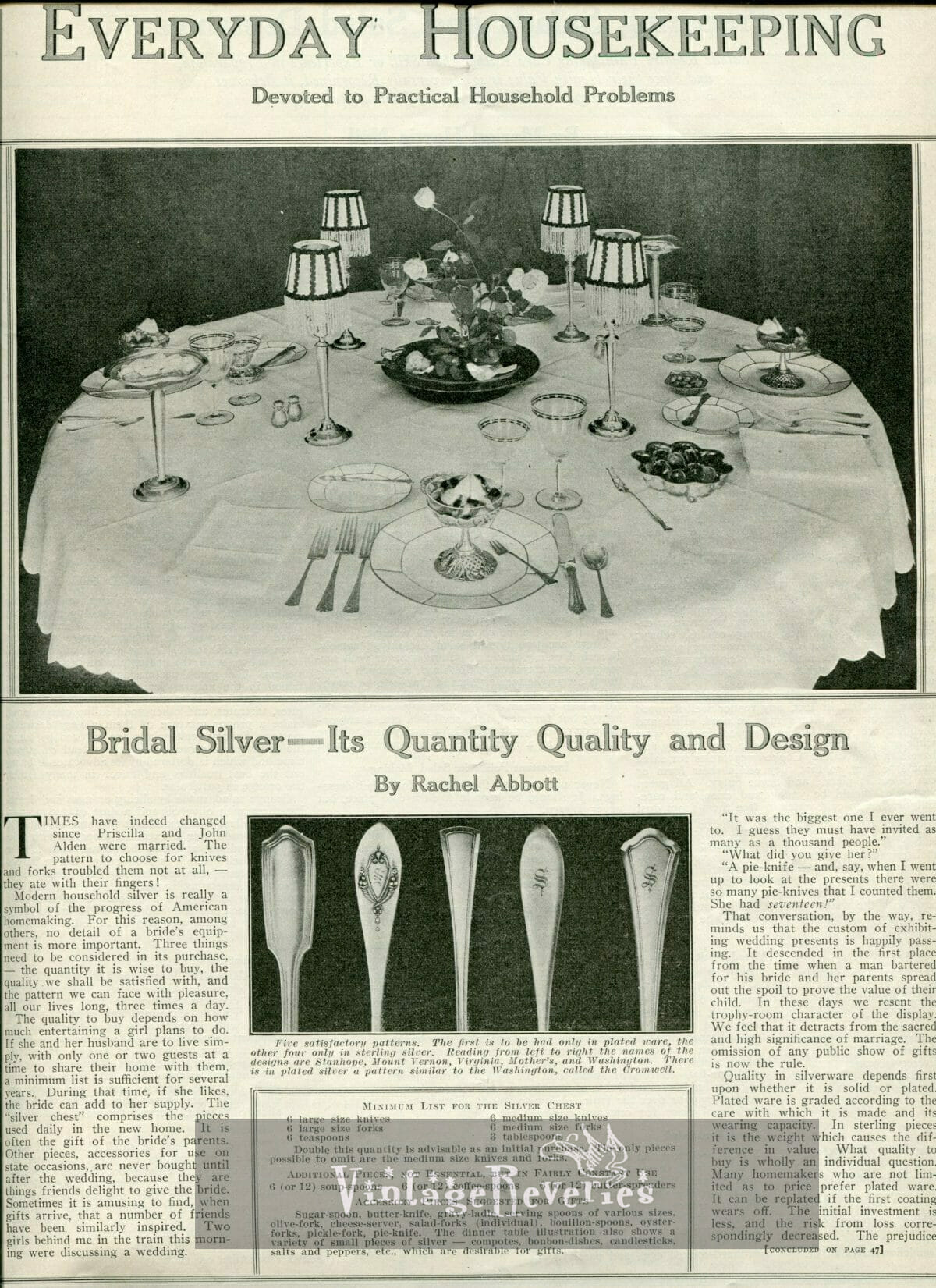 how to choose silverware