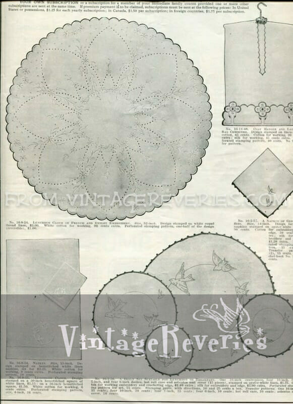 edwardian lace pattern