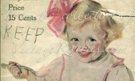 July 1917 – World War I issue of The Modern Priscilla Housekeeping Magazine