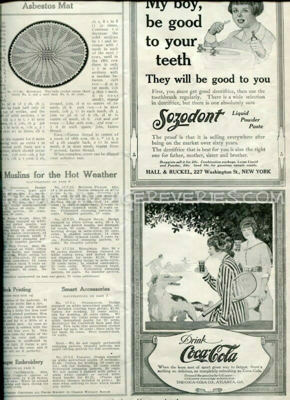 1910s coca cola ad