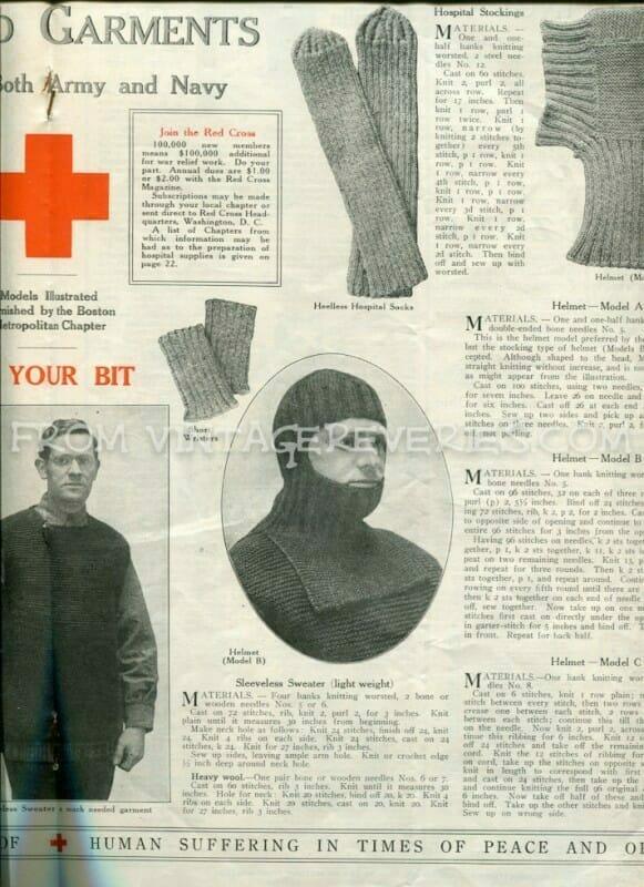 World War I Red Cross