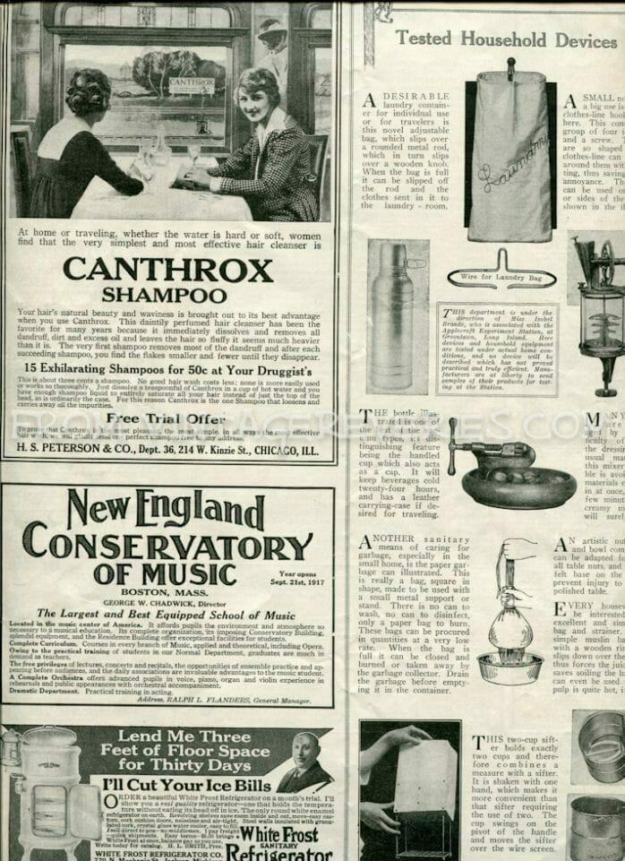 Household appliances in World War I