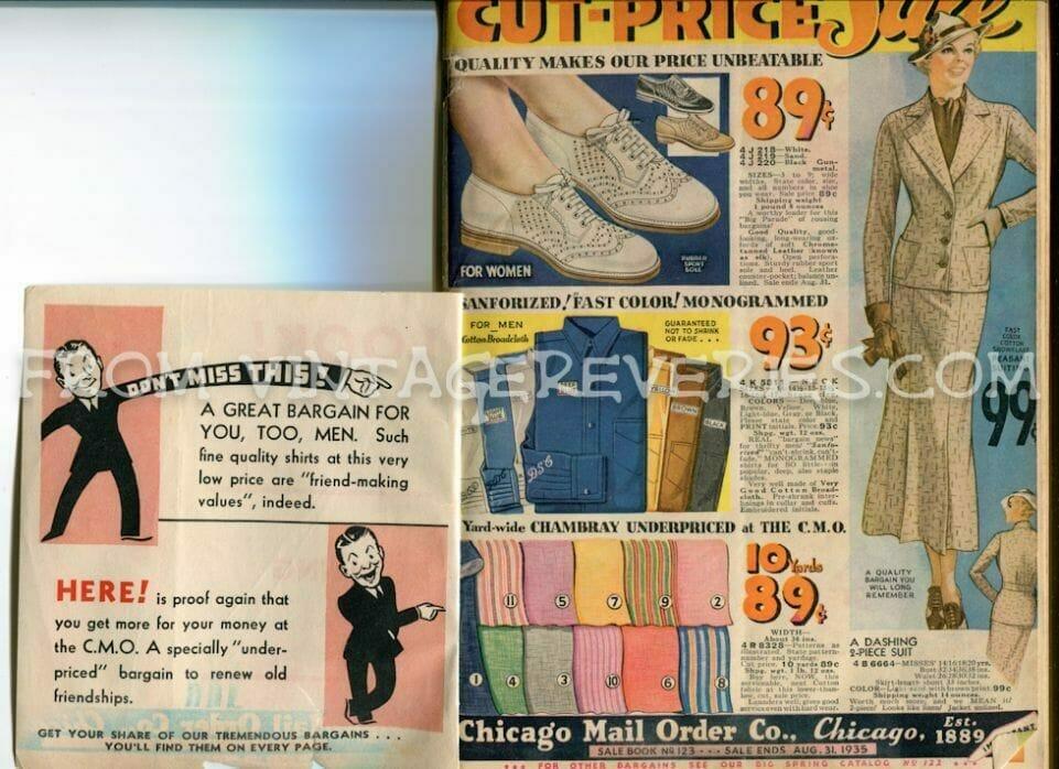 1930s Fashions