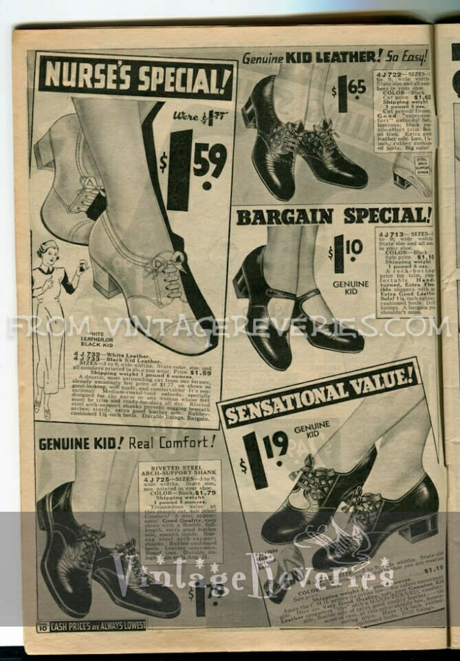 1930s shoe advertisement