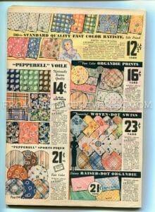1930s fabric prints advertisement