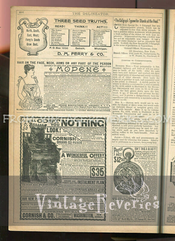 vintage hair removal advertisement