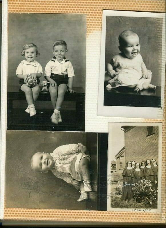 old photo album scan
