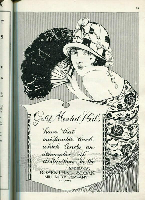 1920s Women's Fashions Advertisements