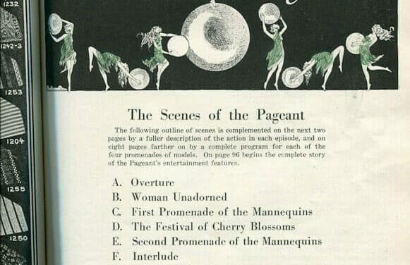 1924 St. Louis Fashion Pageant Program – pt 1