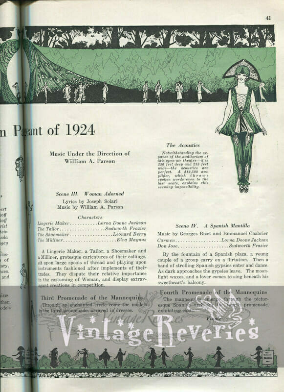 1920s fashion show