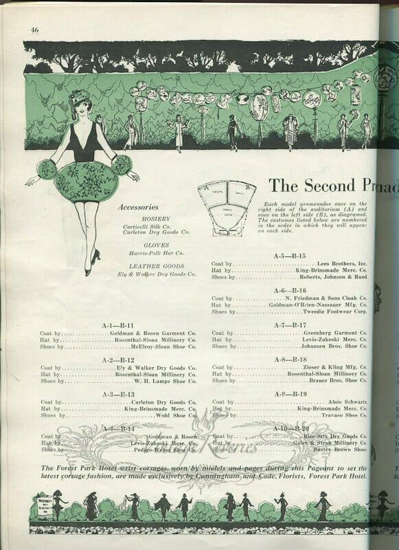 The St. Louis Fashion Pageant – 1924, Pt 2