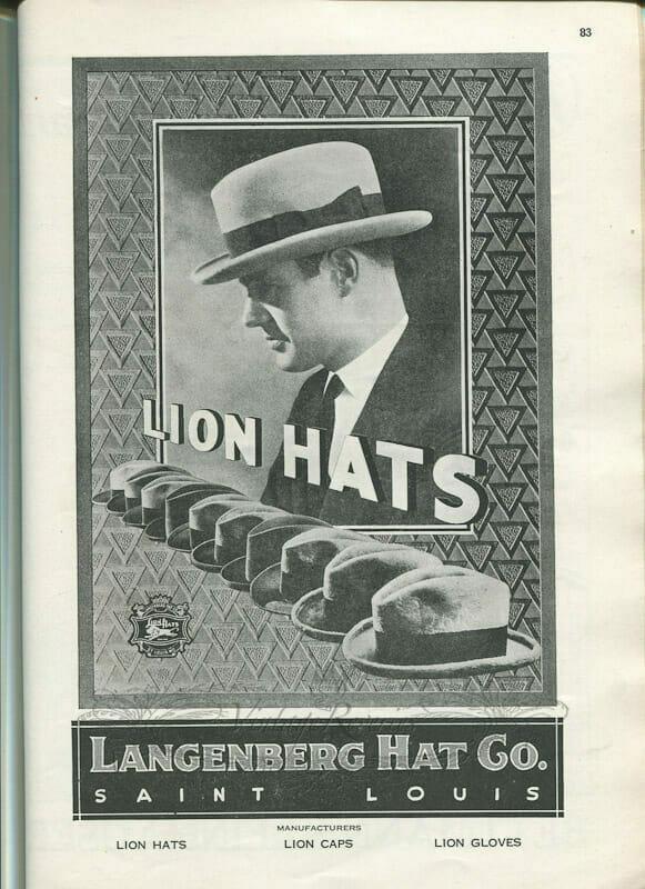 1920s mens hat fashions