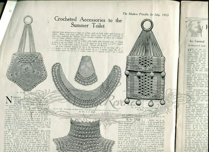 edwardian crochet patterns