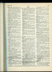 vintage fashion dictionary