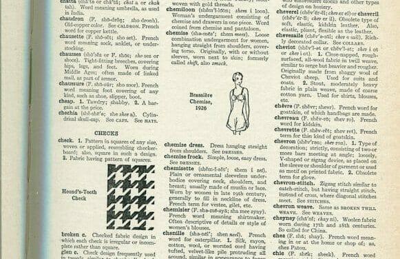 Carcanet thru Cloth Yard – From The Language of Fashion