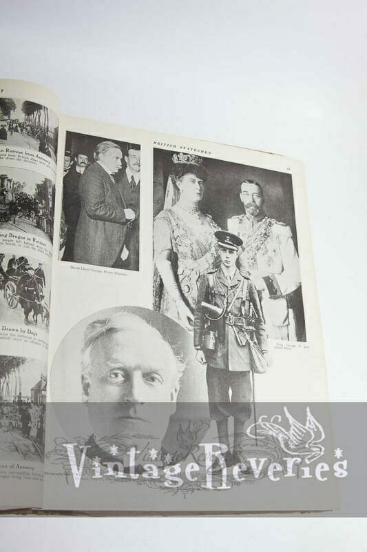 queen and king in world war i