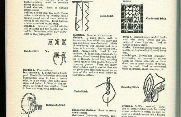 Types of Stitches thru Tunics & Turbans