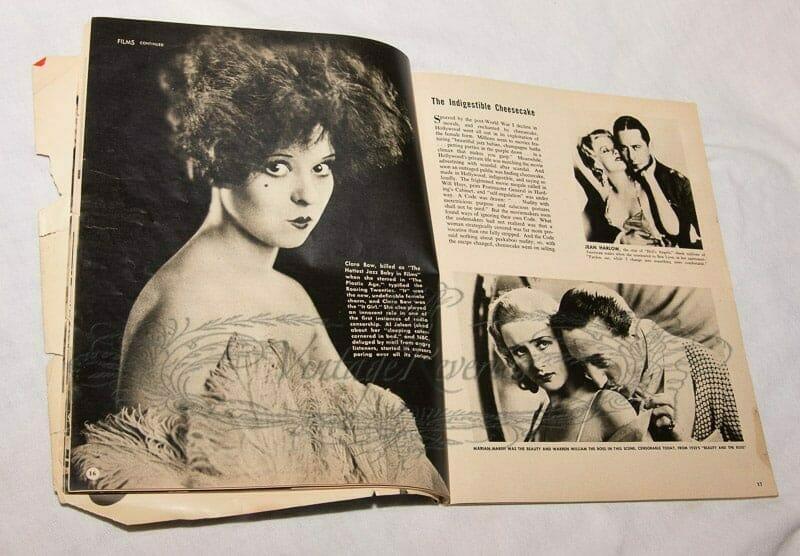 Clara Bow magazine