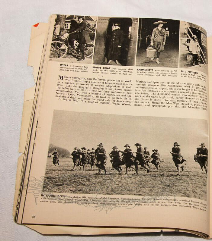 female doughboys World War I