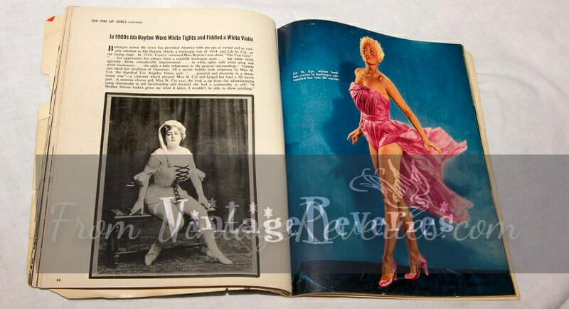 early burlesque stars Ida Bayton and Lili St. Cyr