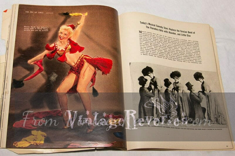 history of pinup and comedy dance