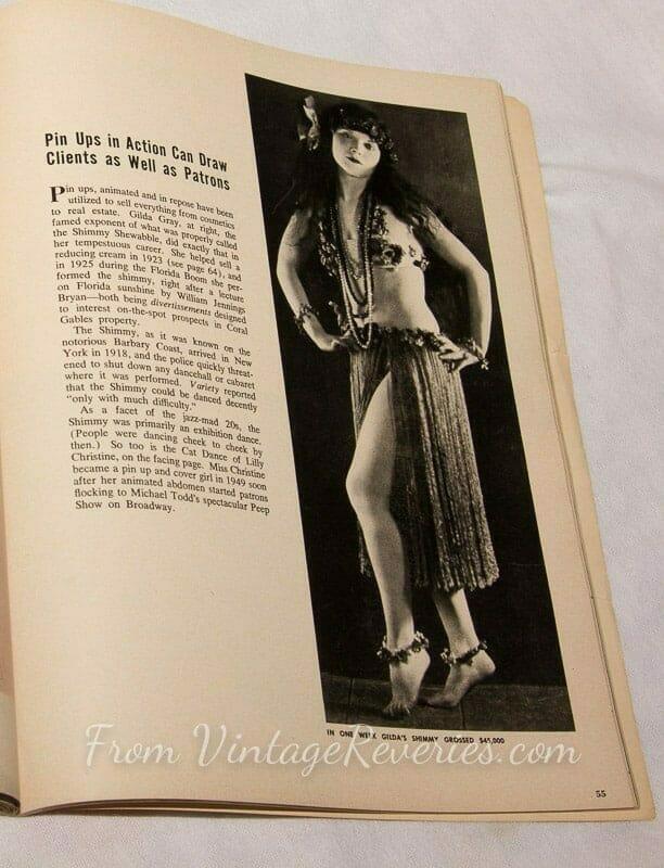 Gilda Grey did the shimmy to sell florida property