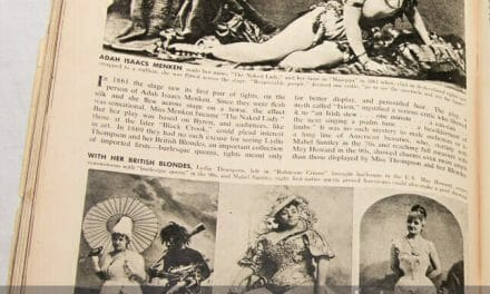The evolution of chorus girls and showing skin on stage