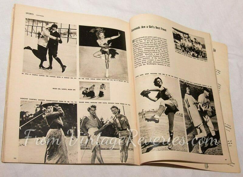history of women in sports