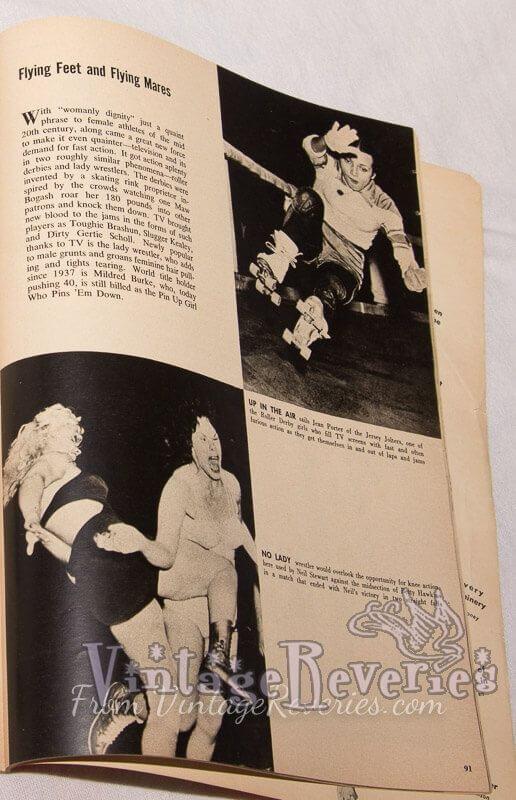Jean porter roller derby star