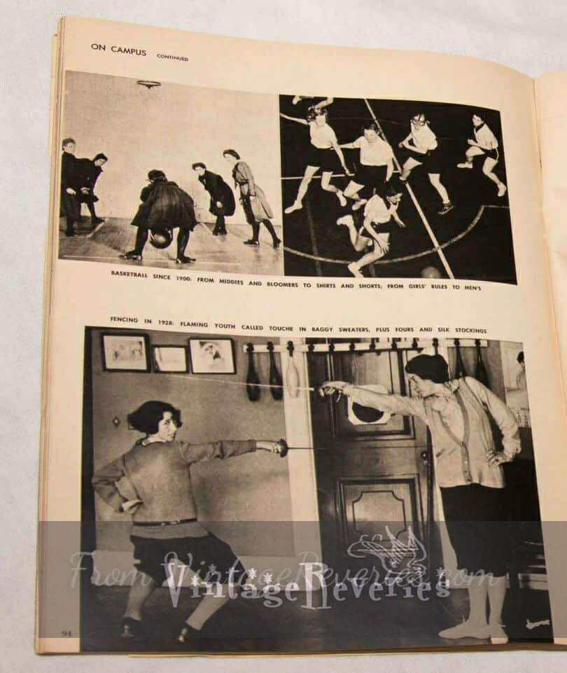 history of womens sports education
