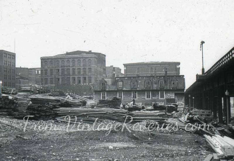 cosntruction photos 1920s