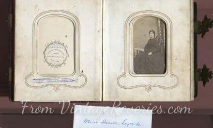 A photo album of Civil War Women and Men