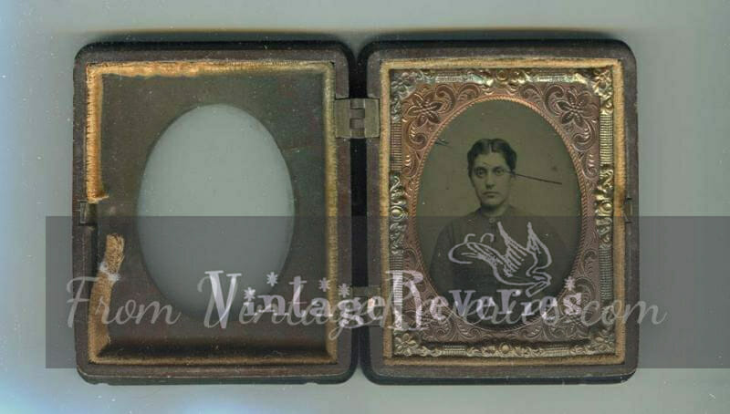 civil war woman portrait