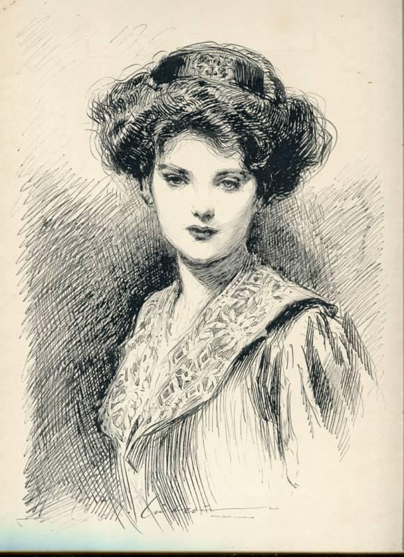 The DayDream - Gibson Girl Print