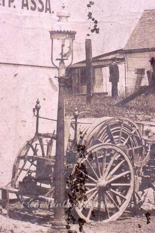 edwardian fire hose cart