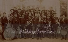early 1900s regimental band