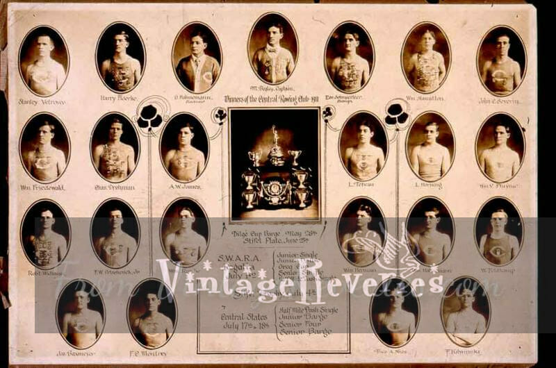 rowing team early 1900s