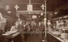 early 1900s pharmacist shop