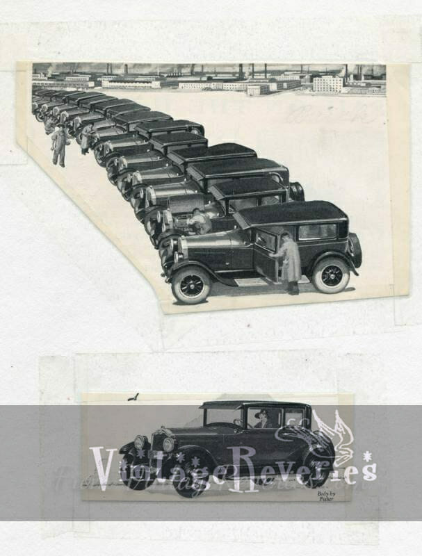 early 1900s buick ad